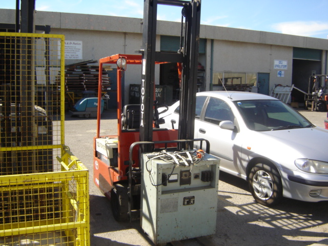 Toyota Electric Forklift  F8
